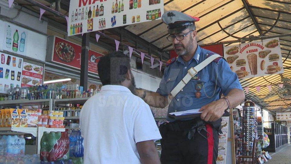 Le indagini delle forze dell'ordinela rapina a Bellariva