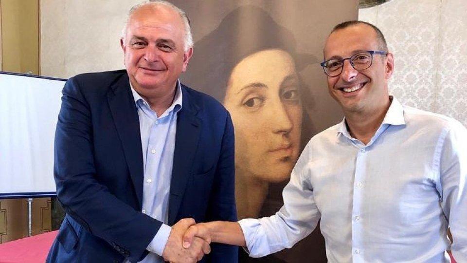 Maurizio Gambini e Matteo Ricci  @twitter