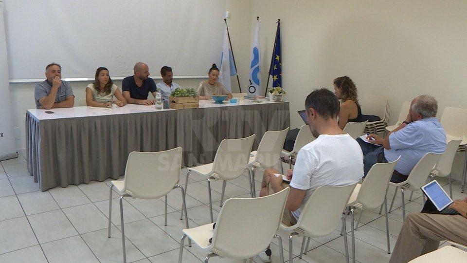 La conferenza stampa di C10