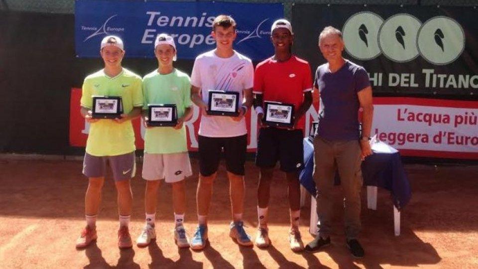 Primi verdetti al San Marino Junior Open