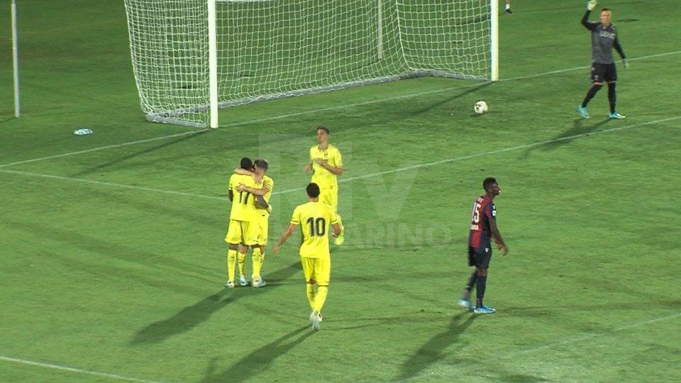 Gol e tanto spettacolo a San Marino, il Villarreal supera 4-3 il Bologna