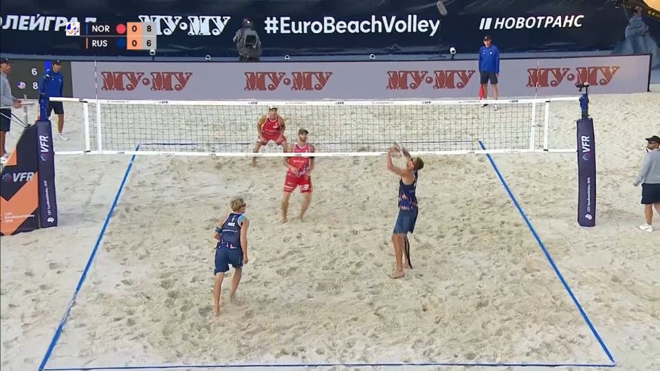 Beach volley: Sorum e Mol vincono anche l'Europeo di Mosca