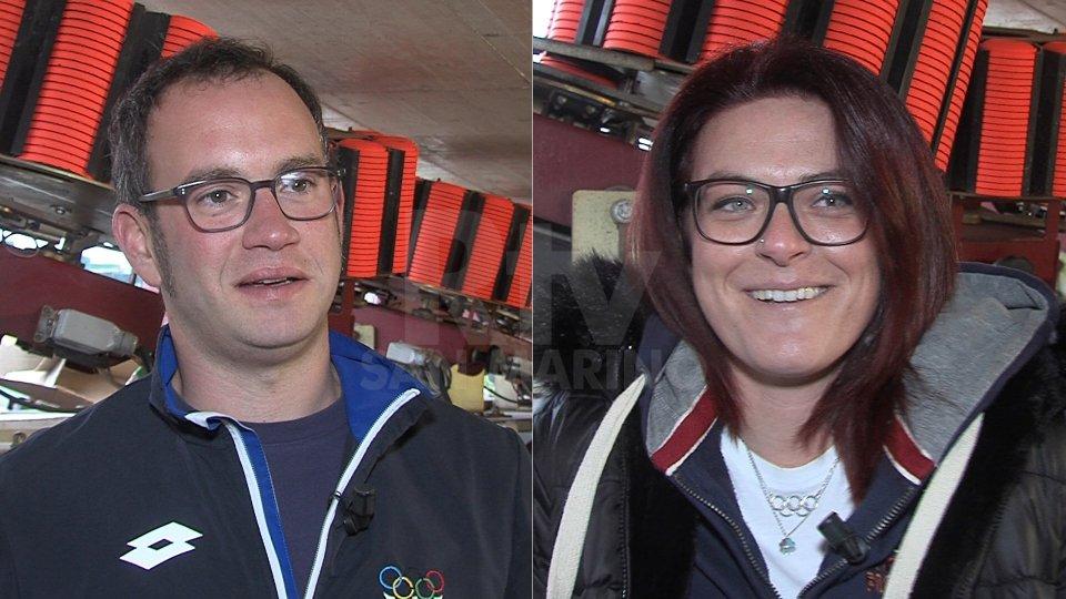 Gian Marco Berti e Alessandra Perilli