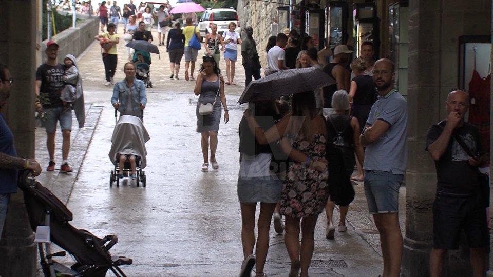 Boom di turisti a San Marino per la vigilia di Ferragosto