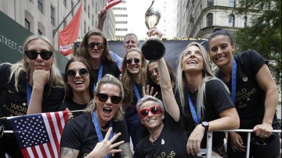 La nazionale femminile USA