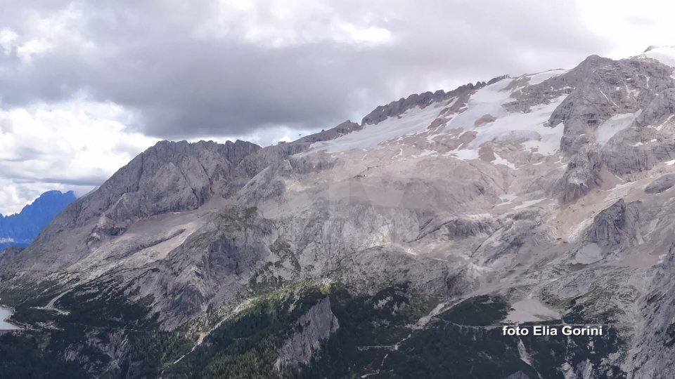 Luglio 2019 è stato il mese più caldo mai registrato. In Italia il ghiacciaio della Marmolada in via di scioglimento