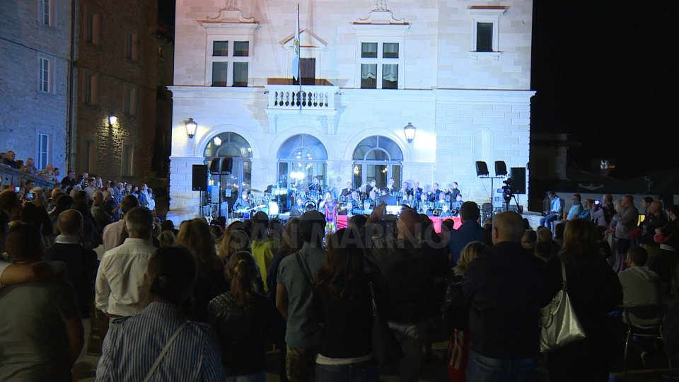 Il concerto in Piazza della Libertà