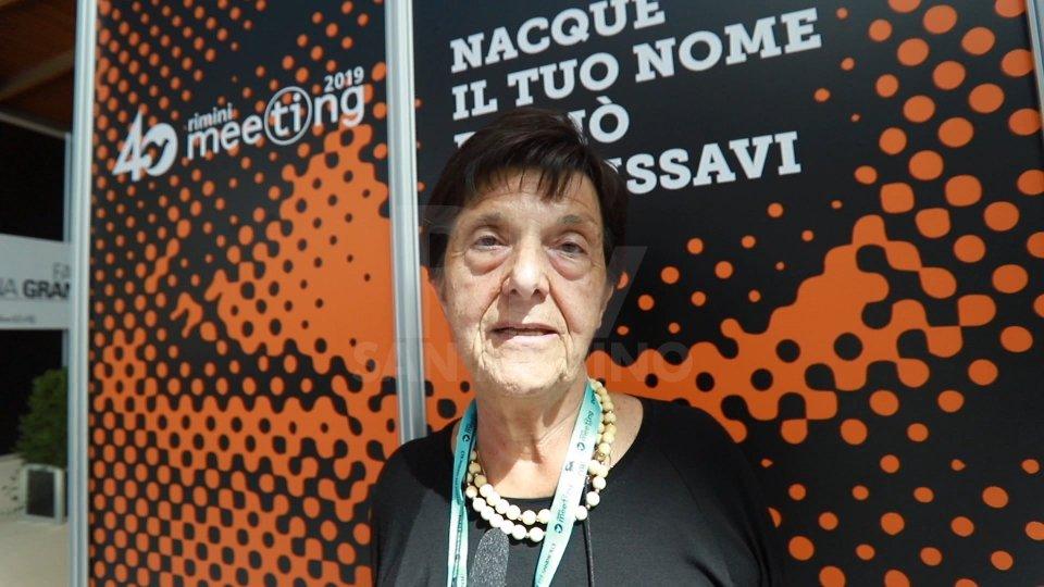 Nel video l'intervista a Emilia Guarnieri Smurro, Presidente Fondazione Meeting