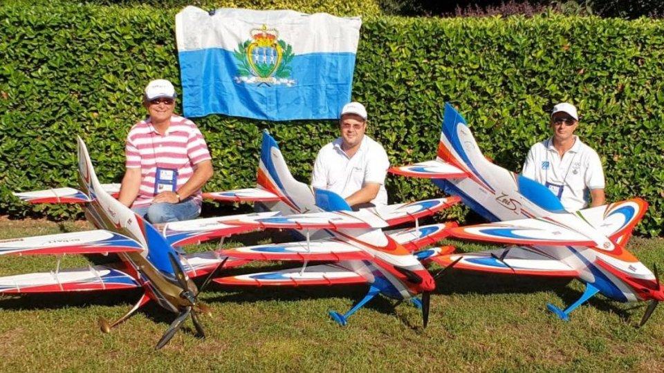 La nazionale della Federazione Aeronautica Sammarinese ha partecipato al Campionato Mondiale F3A
