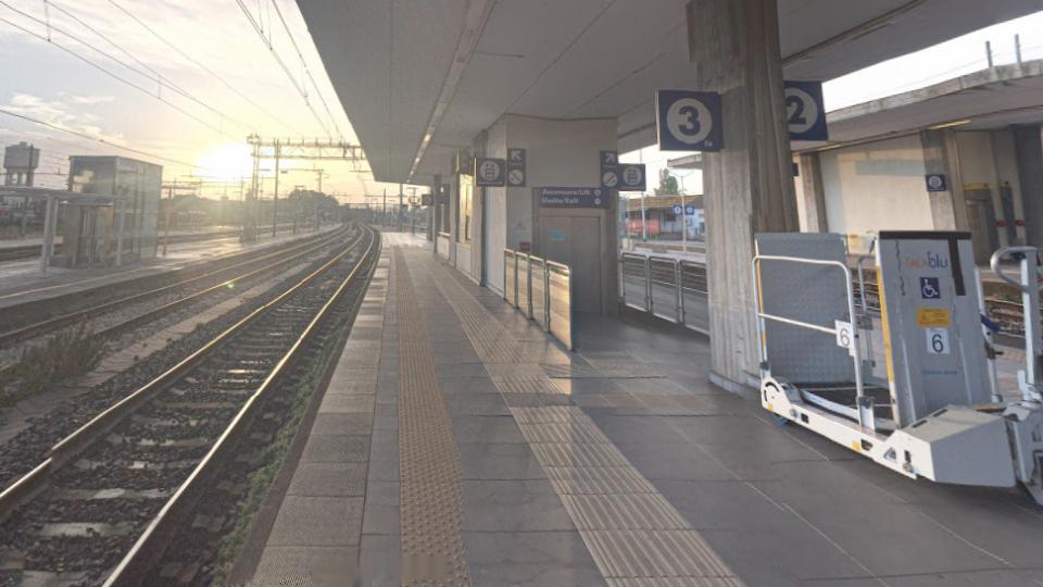 Stazione di Rimini. Foto @google maps