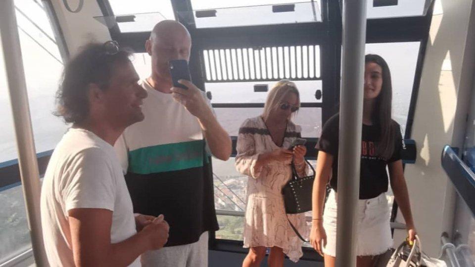 Antonella e Gianluca con Rudy Zerbi