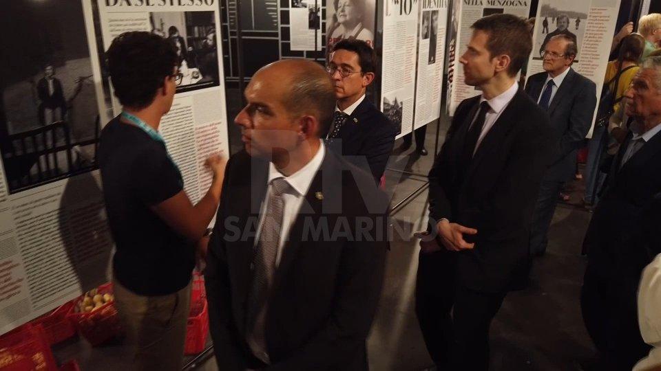 I Capitani reggenti in visitaAl Meeting di Rimini è stato il giorno dei Capitani Reggenti