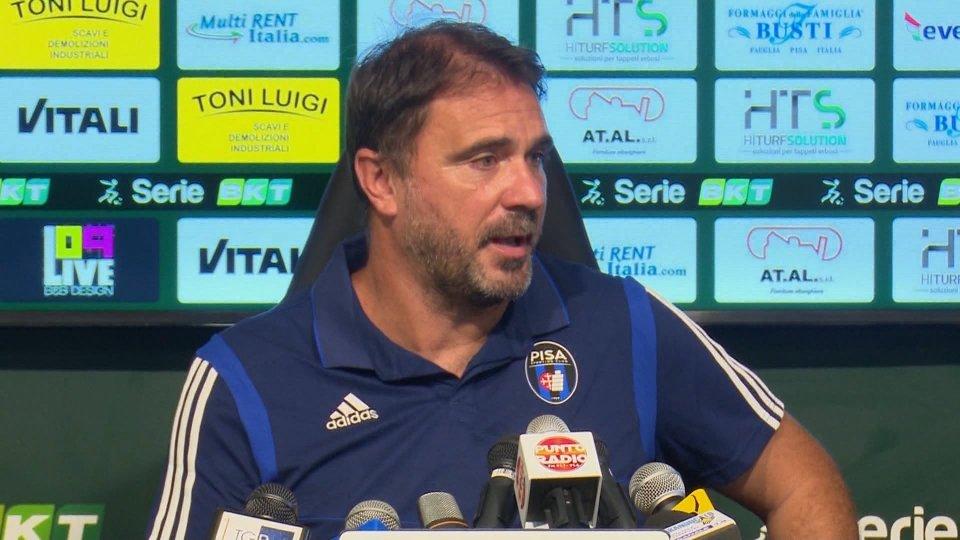 La conferenza stampa di Luca D'Angelo