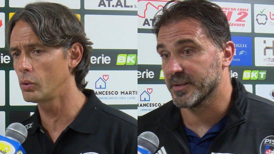 Filippo Inzaghi e Luca D'Angelo