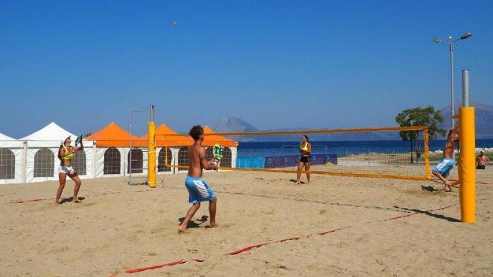 Mediterranean Beach Games, primi allenamenti per i biancazzurri