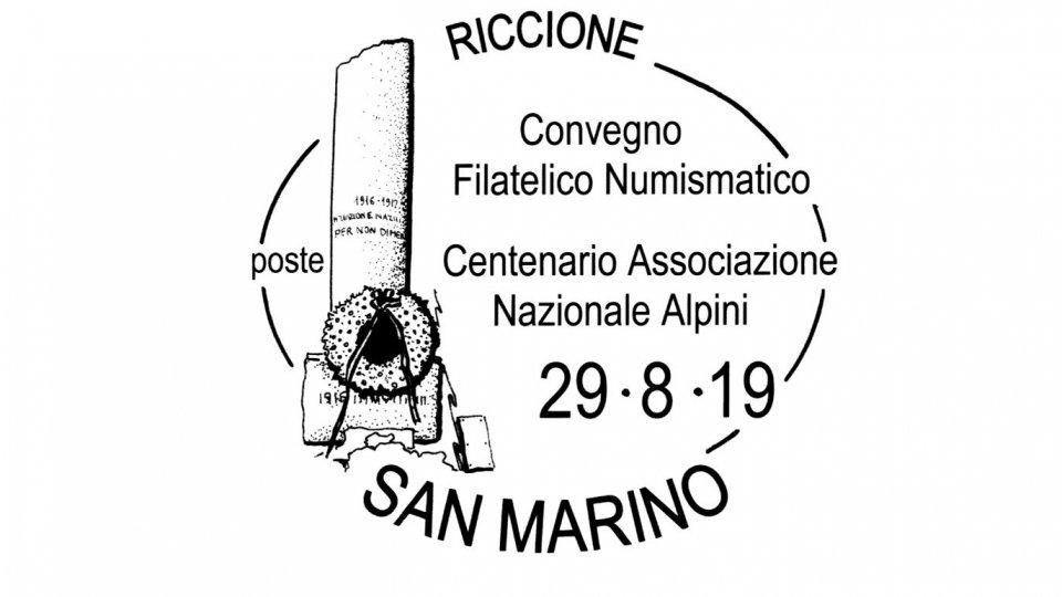 UFN: annullo speciale per Convegno Filatelico e Numismatico Riccione