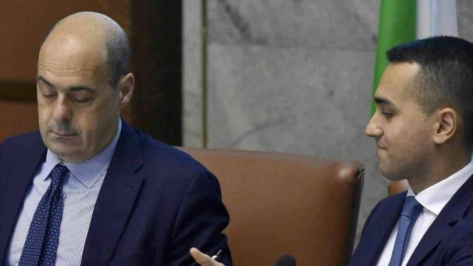 Incontro Di Maio - Zingaretti per faccia a faccia su ipotesi di governo M5S-PD