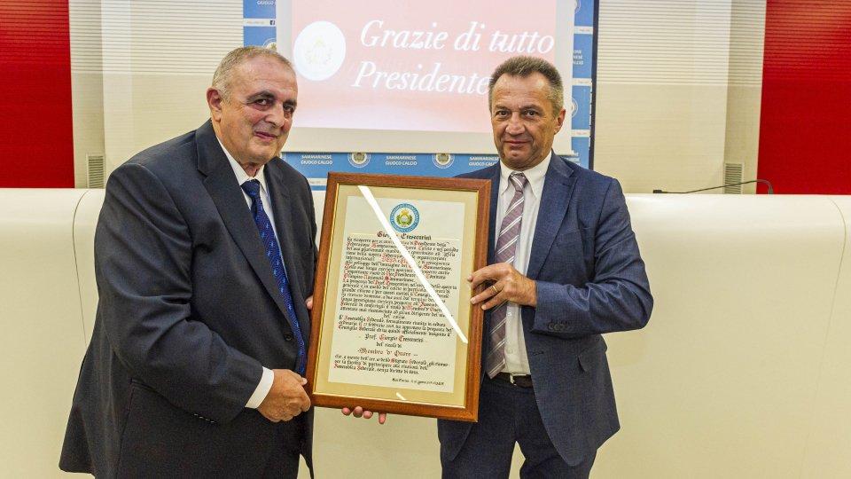Giorgio Crescentini e Marco Tura. Foto ©FSGCGiorgio Crescentini e Marco Tura. Foto ©FSGC