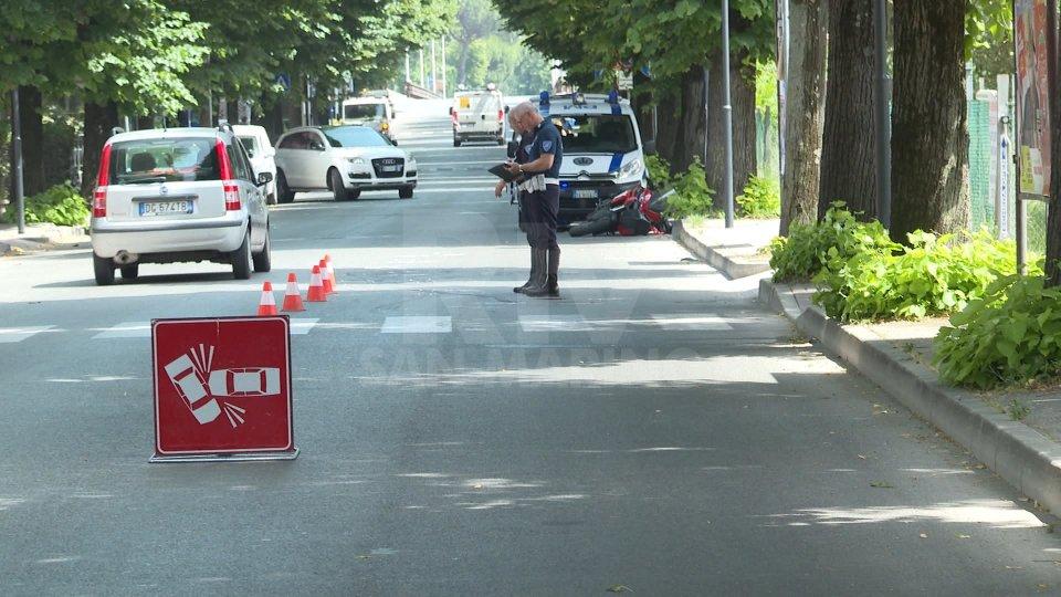 Un incidente a Rimini. Foto archivioUn incidente a Rimini. Foto archivio