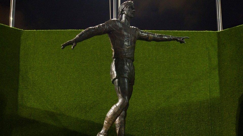 La statua a Johann Cruyff