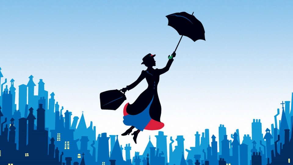"27 Agosto 1964 arriva nei cinema ""Mary Poppins"""
