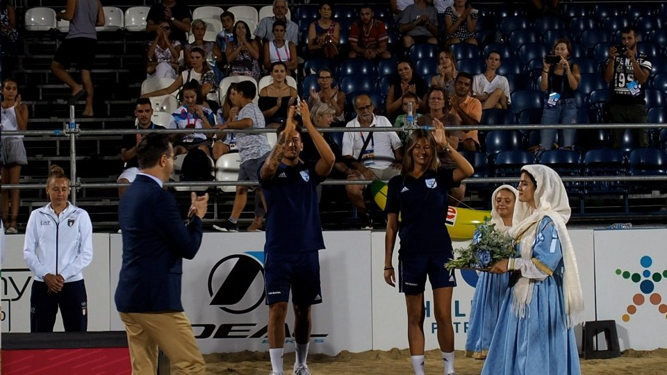 Patrasso 2019: Grandi e Bombini premiati col bronzo nel beach tennis. Out Sansovini nel nuoto
