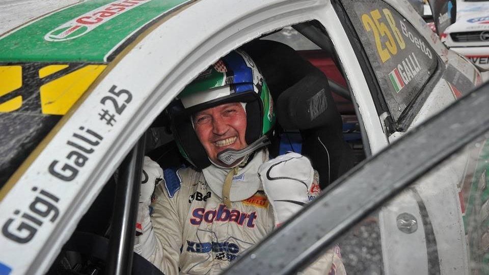 Gigi Galli protagonista al Rallylegend