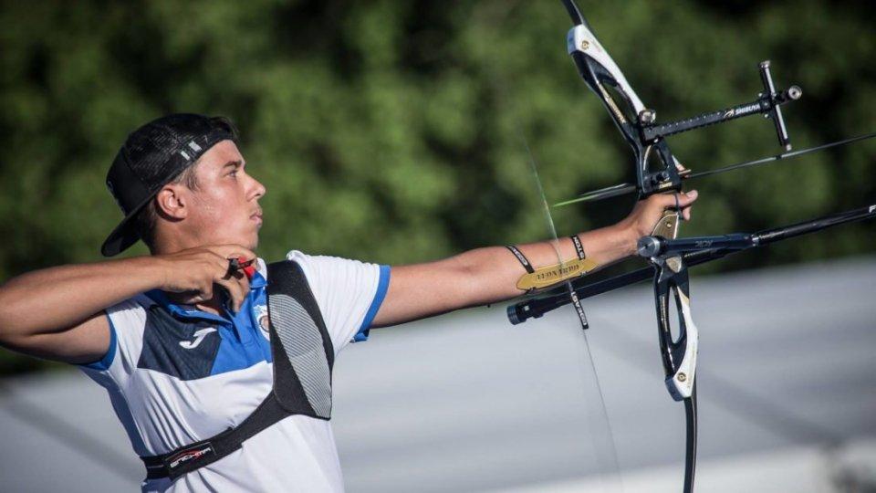 Leonardo Tura 33° al Mondiale giovanile di tiro con l'arco a Madrid