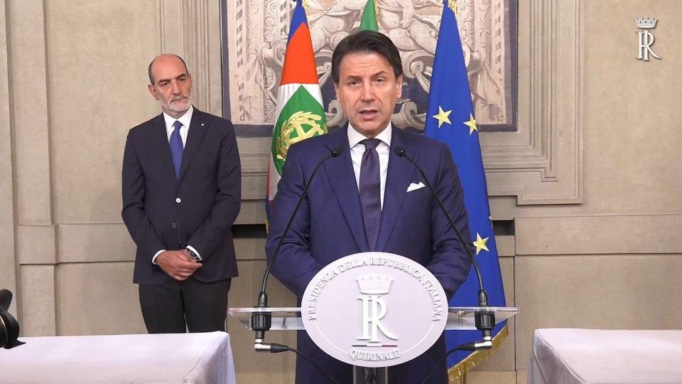 Giuseppe ConteL'intervento di Conte