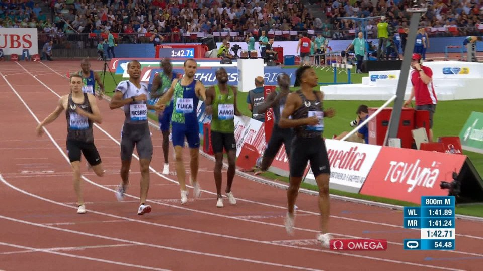 Diamond League: prima giornata di finali a Zurigo