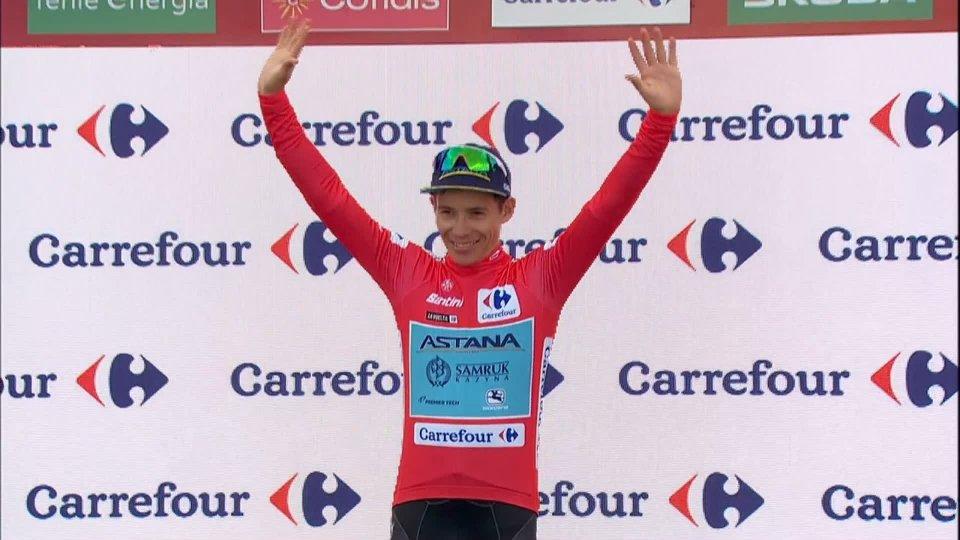 Vuelta di Spagna: Lopez torna in rosso. Formolo si ritira