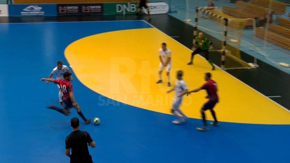Il gol di Fabio Belloni