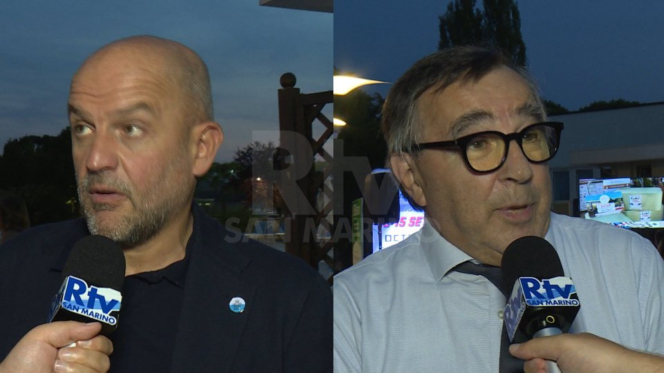I segretari di Stato Marco Podeschi e Augusto MichelottiIntervista ai Segretari di Stato Marco Podeschi e Augusto Michelotti