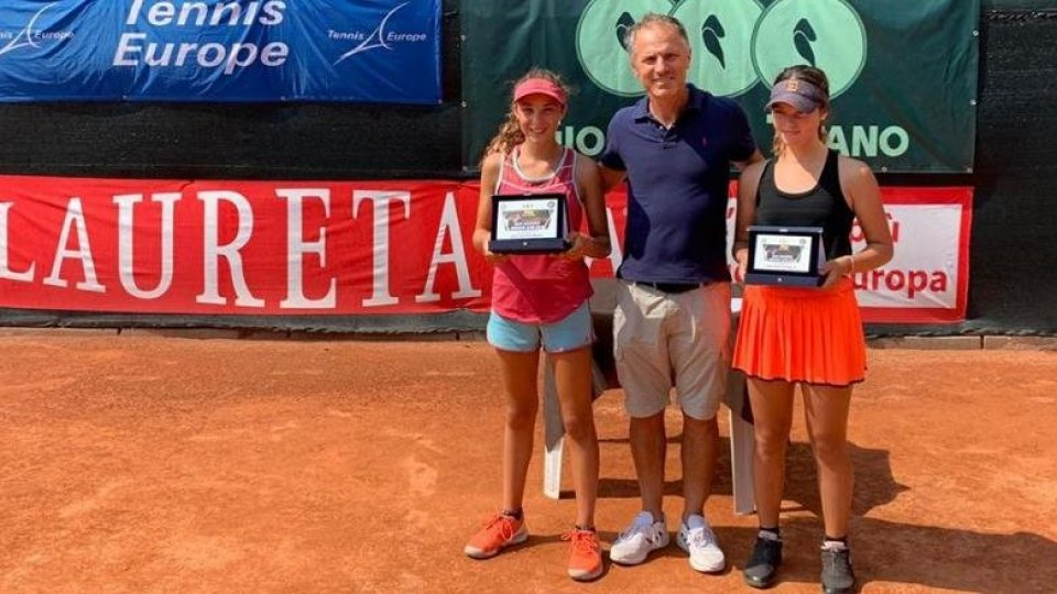 Tennis, Cina e Nosei vincono la San Marino Junior Cup U12
