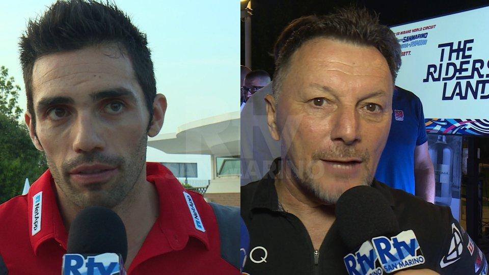 Michele Pirro - Fausto GresiniMichele Pirro - Fausto Gresini