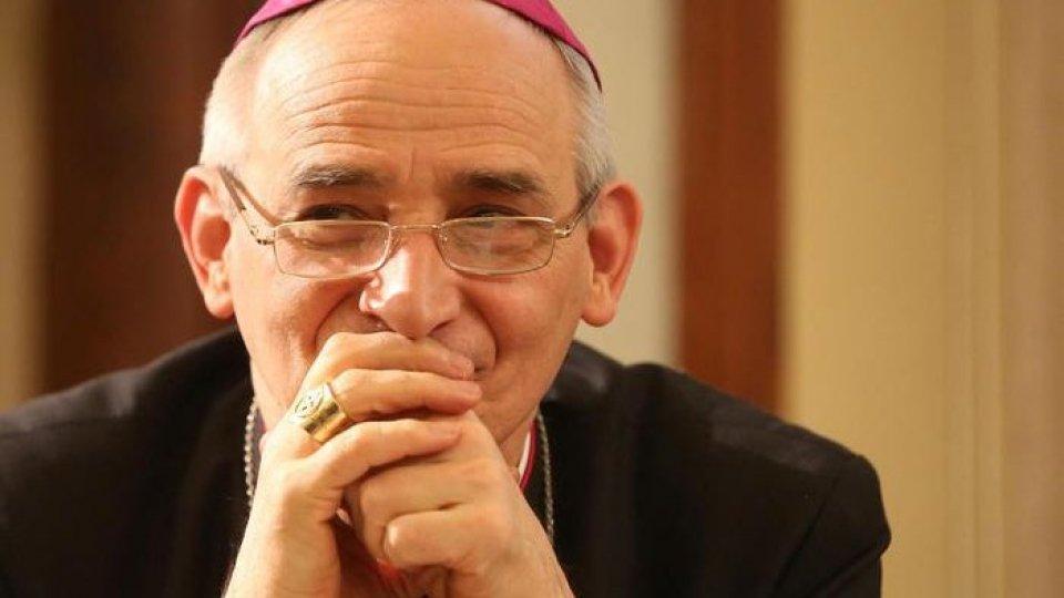 Monsignor Matteo Zuppi. Foto ansa