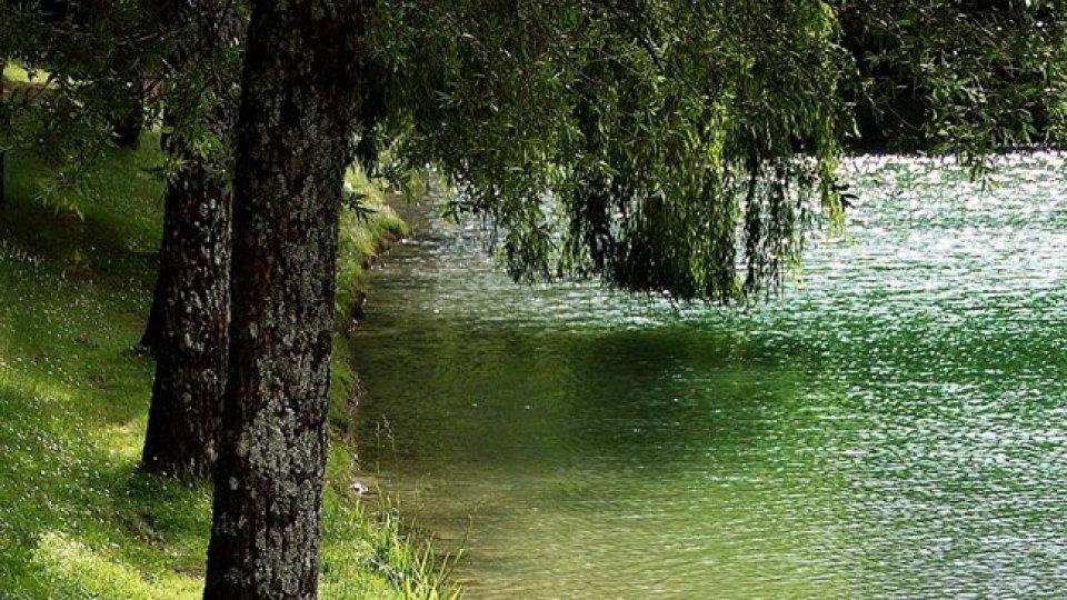 Il Lago Andreuccio. Foto facebook @uby.nori