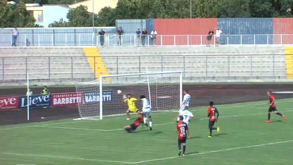 Gubbio-Vecomp Verona 2-2Gubbio-Vecomp Verona 2-2