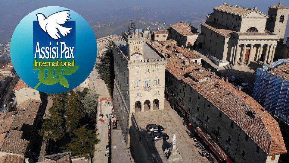 Palma D'Oro Assisi Pax a San Marino per l'impegno nella pace