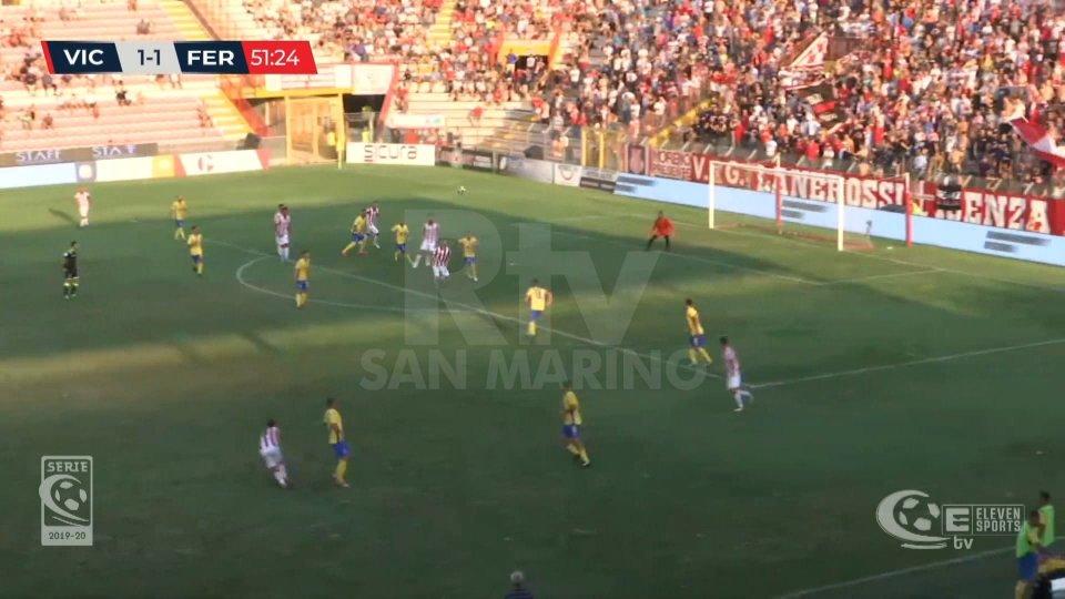 Vicenza-Fermana 3-1Vicenza batte Fermana 3-1