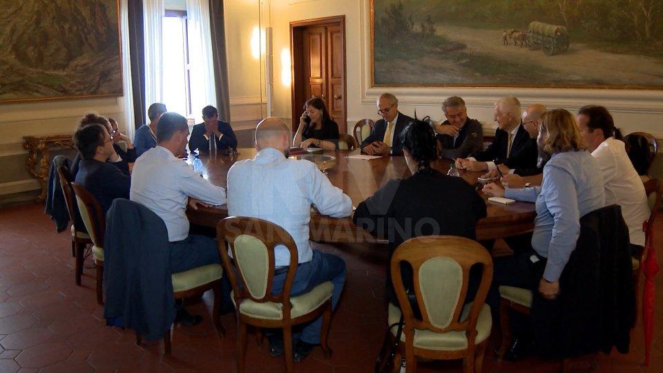 Il tavolo istituzionale