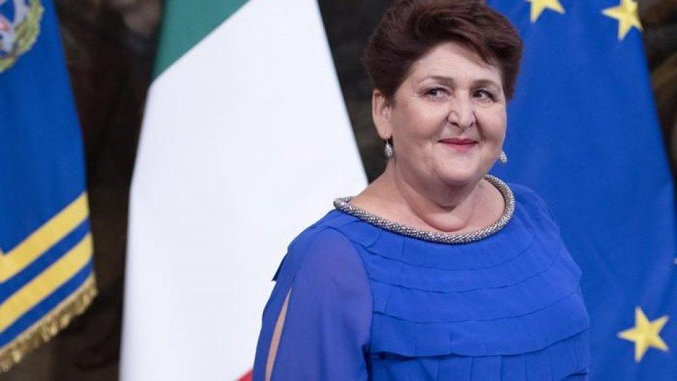 Teresa Bellanova. Foto ansa