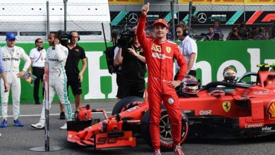 F1, GP Monza: Leclerc in pole position