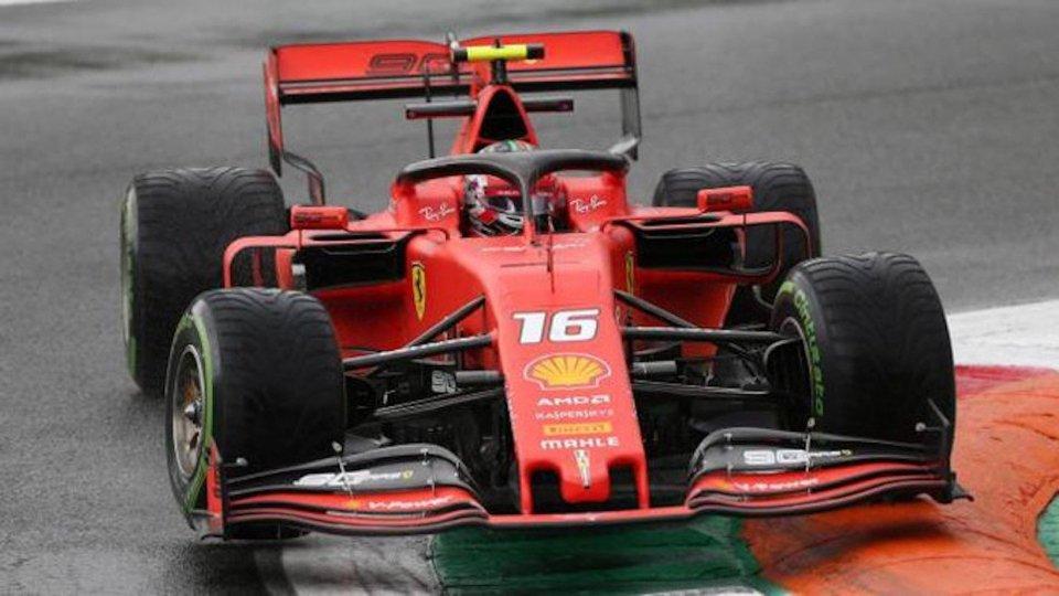 Leclerc trionfa a Monza