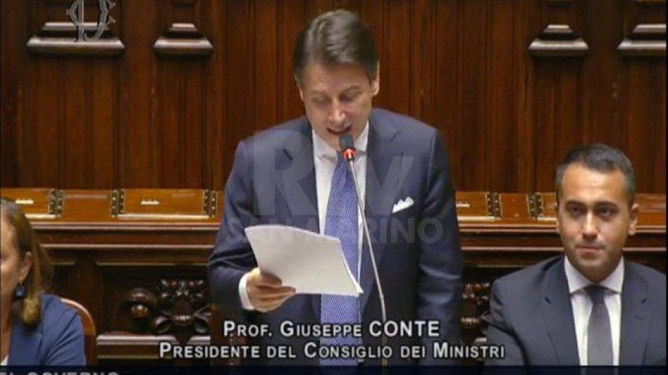 Conte alla Camera: sarò garante e primo responsabile del programma