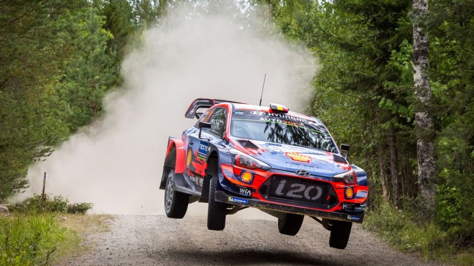 Thierry Neuville al Rally Legend