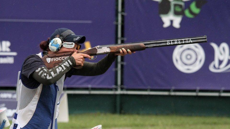 Alessandra Perilli. Foto European Shooting Confederation