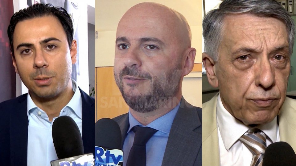 Alessandro Bevitori, Luca Boschi e Mario VenturiniAlessandro Bevitori, Luca Boschi e Mario Venturini
