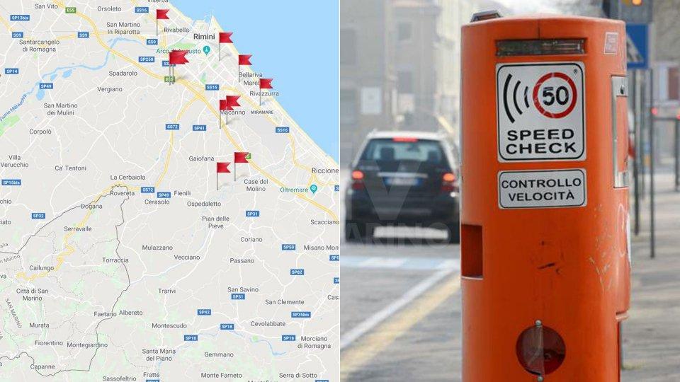 Rimini: 10 nuovi autovelox sulle strade comunali
