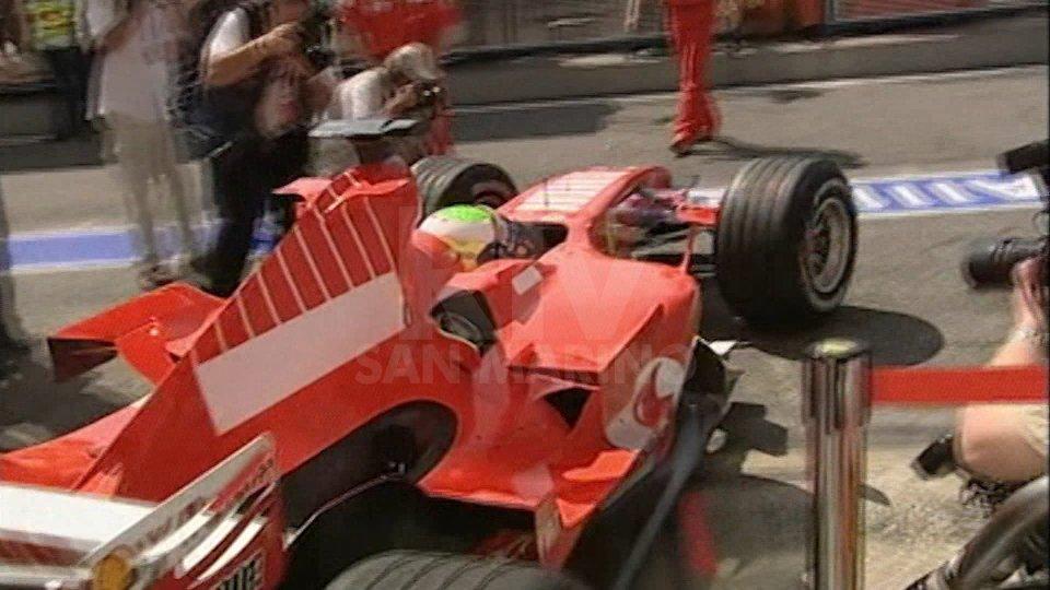 Ferrari sul circuito di ImolaFerrari sul circuito di Imola